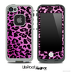 Hot Pink Animal Cheetah Skin for the iPhone 5 or 4/4s LifeProof Case