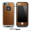 Light Wood Laminate Skin for the iPhone 5 or 4/4s LifeProof Case