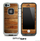 Raw Woodgrain Skin for the iPhone 5 or 4/4s LifeProof Case