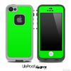 Solid Lime Green Skin for the iPhone 5 or 4/4s LifeProof Case