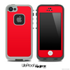 Solid Red Skin for the iPhone 5 or 4/4s LifeProof Case