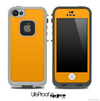 Solid Bright Orange Skin for the iPhone 5 or 4/4s LifeProof Case