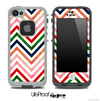 Colorful Vintage Chevron Skin for the iPhone 5 or 4/4s LifeProof Case