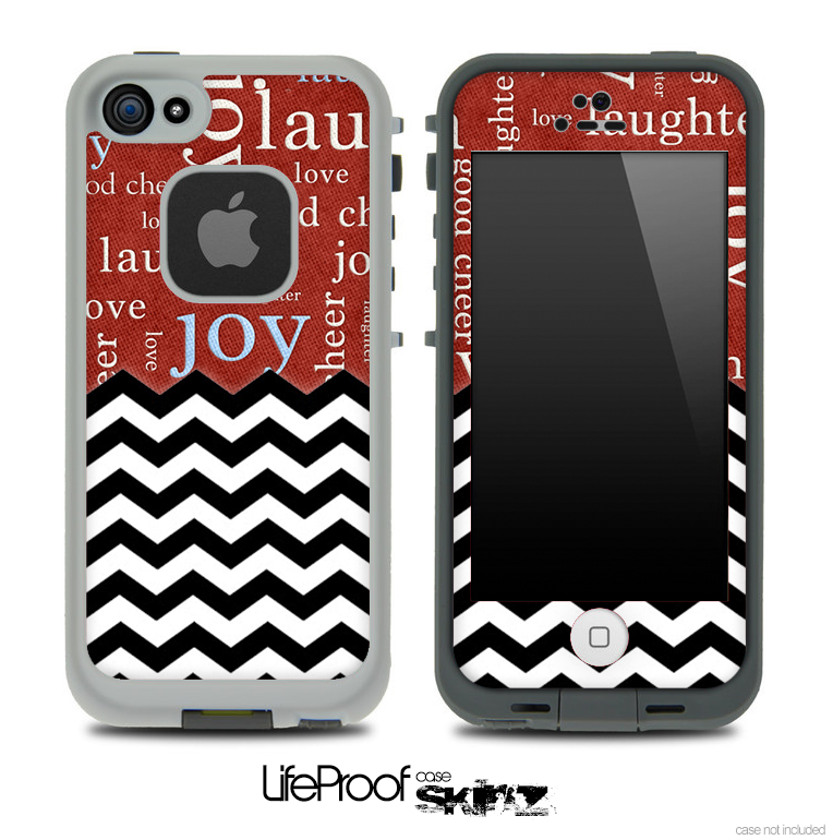 Mixed Love Wallpaper And Chevron Pattern Skin For The IPhone 5 Or 4/4s  LifeProof