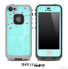 Subtle Blue Lace Pattern V2 Skin for the iPhone 5 or 4/4s LifeProof Case