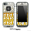 White and Foamy Beer Anchor Collage Skin for the iPhone 5 or 4/4s LifeProof Case