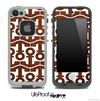 White and Wood Anchor Collage Skin for the iPhone 5 or 4/4s LifeProof Case