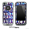 White and Strobe Light Anchor Collage Skin for the iPhone 5 or 4/4s LifeProof Case