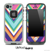 Chevron V2 Fun Color Pattern Skin for the iPhone 5 or 4/4s LifeProof Case