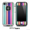 Striped V4 Fun Color Pattern Skin for the iPhone 5 or 4/4s LifeProof Case