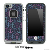 Dark Colors Anchor Collage Skin for the iPhone 5 or 4/4s LifeProof Case