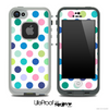 Color-Bright V1 Polka Dot Pattern Skin for the iPhone 5 or 4/4s LifeProof Case