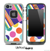 Striped Fun Color Pattern Skin for the iPhone 5 or 4/4s LifeProof Case