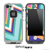 ZigZag Chevron V3 Fun Color Pattern Skin for the iPhone 5 or 4/4s LifeProof Case