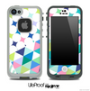 Sparkling V2 Fun Color Pattern Skin for the iPhone 5 or 4/4s LifeProof Case