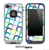 Hoops Fun Color Pattern Skin for the iPhone 5 or 4/4s LifeProof Case