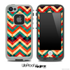 Abstract Colorful Wild Chevron Pattern for the iPhone 5 or 4/4s LifeProof Case