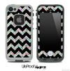Black and Colorful Dotted V2 Chevron Pattern Skin for the iPhone 5 or 4/4s LifeProof Case