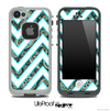 Large Chevron and Paisley V4 Skin for the iPhone 5 or 4/4s LifeProof Case
