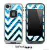 Large Chevron and Deep Rough Sea Skin for the iPhone 5 or 4/4s LifeProof Case