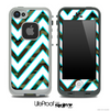 Large Chevron and Traditional Camo V3 Skin for the iPhone 5 or 4/4s LifeProof Case