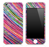 Abstract Color Strokes 3 Skin for the iPhone 3gs, 4/4s or 5