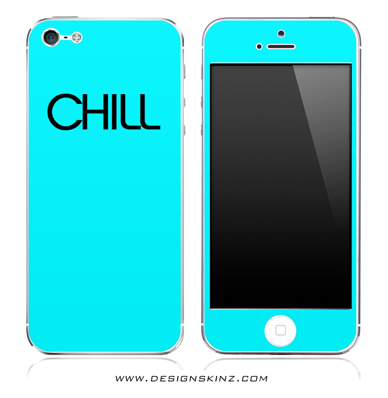 Turquoise Chill iPhone Skin