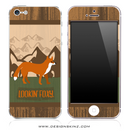 Looking Foxy iPhone Skin by Lauren Pyles