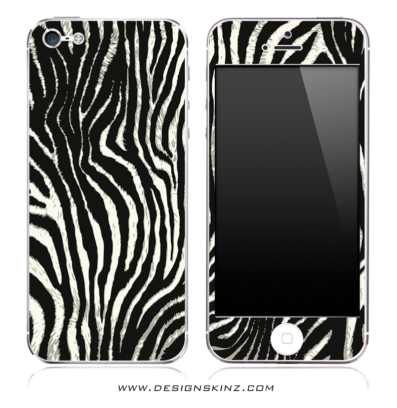 Real Zebra iPhone Skin