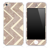 Large Vintage Chevron Pattern Skin for the iPhone 3, 4/4s or 5