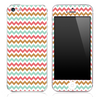 Colorful Vintage V3 Chevron Pattern Skin for the iPhone 3, 4/4s or 5