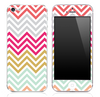 Colorful V2 Chevron Pattern Skin for the iPhone 3, 4/4s or 5