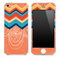 Colorful DreamCatcher Chevron Pattern Skin for the iPhone 3, 4/4s or 5