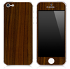Walnut Wood Skin for the iPhone 3gs,4/4s or 5