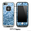 Glimmer Blue Skin for the iPhone 5 or 4/4s LifeProof Case