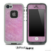 Dusty Subtle Pink Skin for the iPhone 5 or 4/4s LifeProof Case