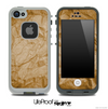 Crumpled Brown Paper Skin for the iPhone 5 or 4/4s LifeProof Case