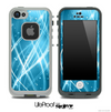 Abstract Blue Swirl Skin for the iPhone 5 or 4/4s LifeProof Case
