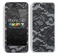 Black Laced Pattern Skin For The iPhone 5c