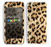 Real Cheetah Animal Print Skin For The iPhone 5c