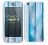 Light Blue Washed Wood Skin For The iPhone 5c
