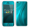 Turquoise Swirled Skin For The iPhone 5c