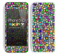 Abstract Neon Tiled Skin For The iPhone 5c