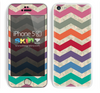 Vintage Color Chevron Pattern and Camo Skin For The iPhone 5c
