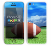 Blue Sky Football Skin For The iPhone 5c