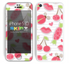 Pink Plushed Pattern Skin For The iPhone 5c