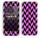 Zig Zag V3 Chevron Pattern Hot Pink and Black Skin For The iPhone 5c