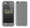 Chevron Pattern V2 Black and White Skin For The iPhone 5c