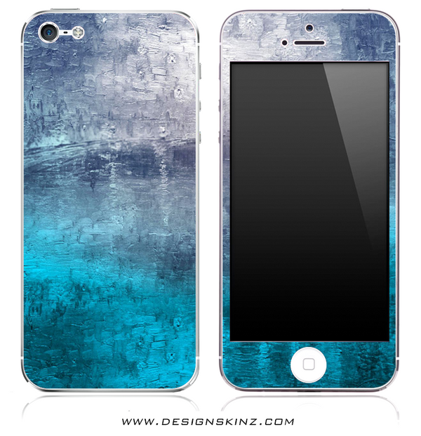 Abstract Oil Painting iPhone Skin