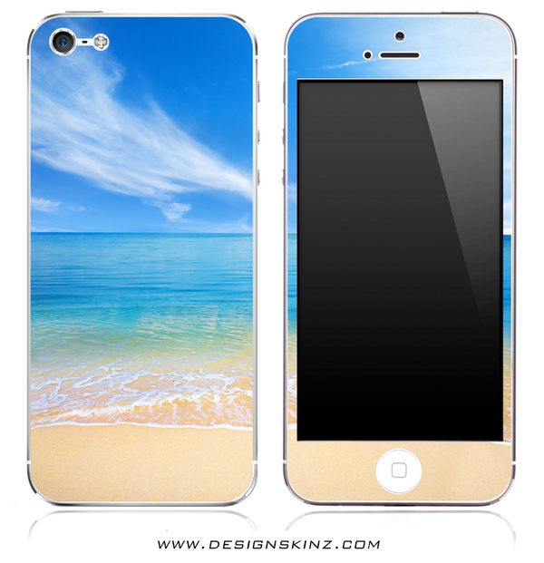 Beach-Scene iPhone Skin
